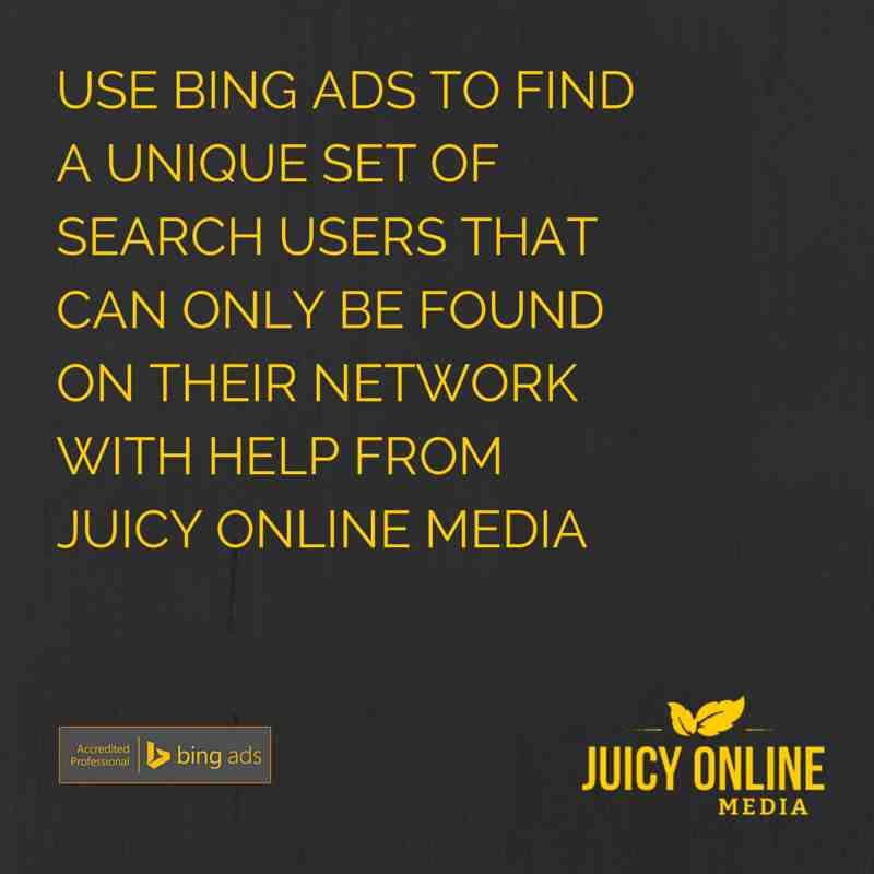 Gold Coast Bing Ads Professionals - Juicy Online Media